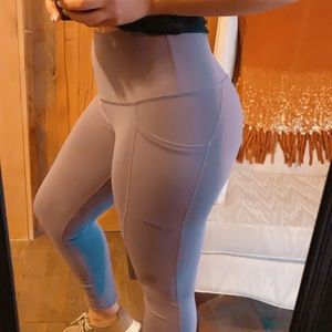 High waisted athletic leggings, new w/o tags